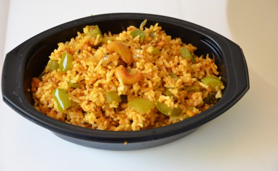 Bell Pepper Fried Rice (Vegan, Gluten free)